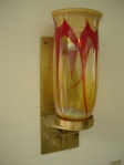 Blown Glass Eternal Flame